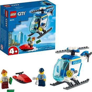Lego® City Polis Helikopteri Yapým Seti; Harika Bir Polis Helikopteri Oyuncaðý 60275 (51 Parça)