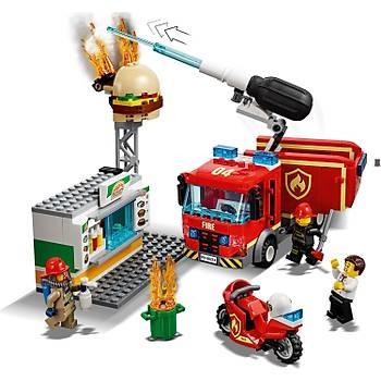 Lego City Hamburgerci Yangýn Söndürme Operasyonu