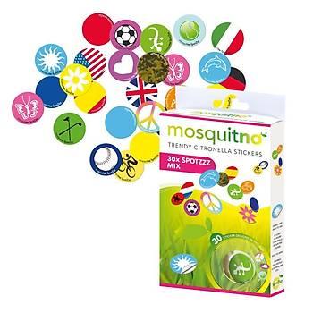 Mosquitno Citronella Spotzz Sinek Kovucu Stickers 5'li Paket