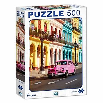 Ca Games Havana Puzzle 500 Parça