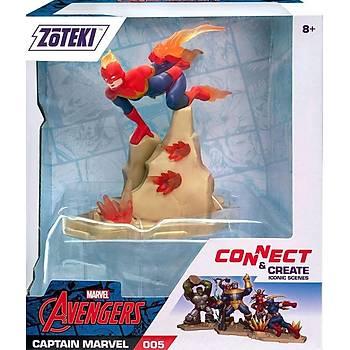 Zoteki Avengers Tekli Figür Captain Marvel