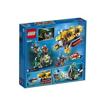 Lego® City Okyanus Keþif Denizaltýsý 60264 Oyuncak
