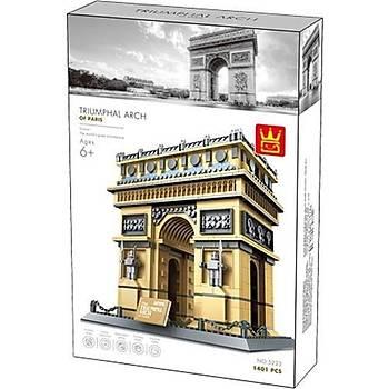 Wange Lego 1401 Parça The Trýumphal Arch Of Parýs-France 5223