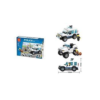 Wange Lego 217 Parça Polis Devriye Arabasý 3Ýn1 51011
