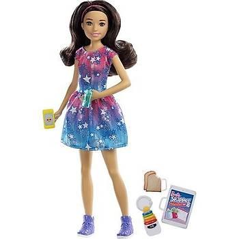 Barbie Bebek Bakýcýsý Bebekler Fxg93 Esmer