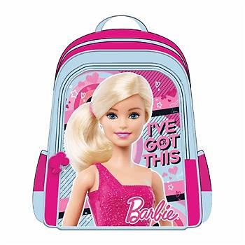 Frocx Lisanslý Barbie Ýlkokul Çantasý Hawk Pink Love Otto-5652