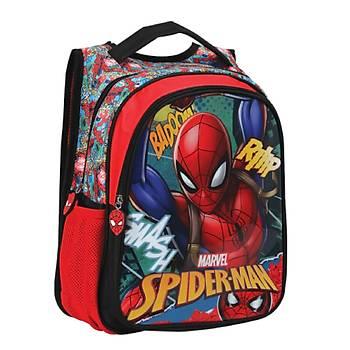 Mikro Lisanslý Spiderman Ýlkokul Çantasý Bat Graffiti Otto-5226