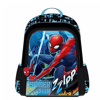 Frocx Lisanslý Spiderman Ýlkokul Çantasý Hawk Black Thwip Otto-5677