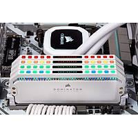 CORSAIR CMT64GX4M4C3200C16W 64GB (4X16GB) DDR4 3200MHz CL16 DOMINATOR PLATINUM RGB SOÐUTUCULU BEYAZ DIMM BELLEK