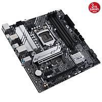 ASUS PRIME B560M-A INTEL B560 LGA1200 DDR4 5000 DP 2XHDMI 2X M2 USB3 2 AURA RGB MATX 128GB KADAR RAM DESTEGI