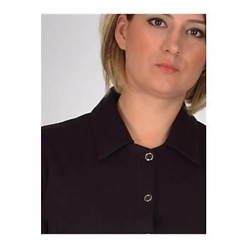 Nidya Moda Büyük Beden Gömlek-1015M