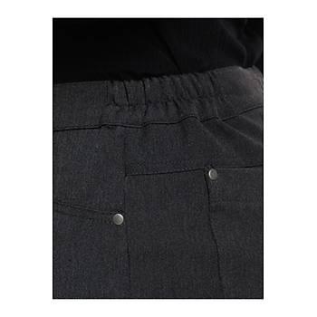 Nidya Moda Büyük Beden Beli Lastikli Pantolon-2020AG