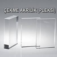 Þeffaf Çekme Pleksi Levha (150x300 cm) - Tüm Kalýnklar