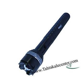 Orta Boy Pilli Zoomlu EL Feneri Watton Wt-206