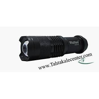 Zoomlu Þarjlý Pilli Tüfek Feneri Watton Wt-057