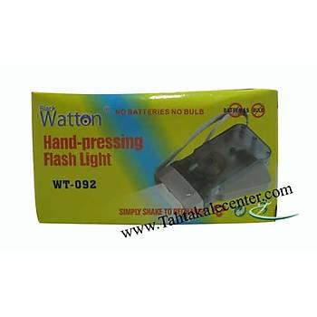 Watton Wt-092 -Elle Þarj Edilebilen Fener