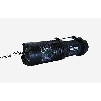 Geçici Körlük Yapan Mini Projektör EL Feneri Wt-146