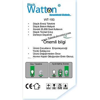 Blackwatton Wt-193 % 80 Tasarruflu 5W Ampül
