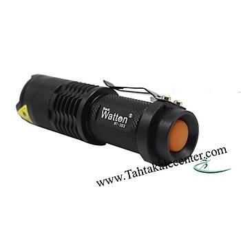 Watton Wt-303 Mini Sahte Parayý Gösteren EL Feneri