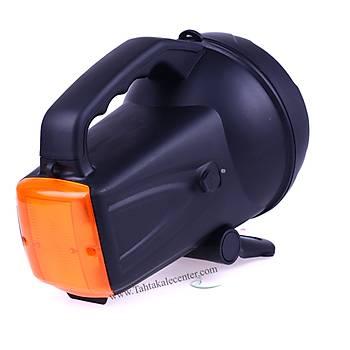Kuvvetli Parlak Ledli Siyalli Büyük Fener Wt-406