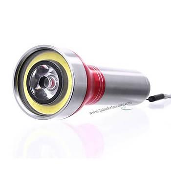 Yeni Model Ledli EL Feneri Watton Wt-068