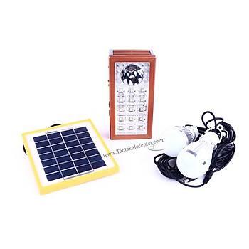 Güneş Enerjisi İle Çalışan Işıldak  Blackwatton Wt-309