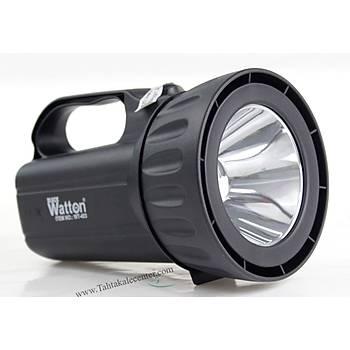 Þarj Edilebilir Profesyonel Portatif EL Feneri Wt-403