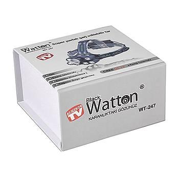 En Güçlü Kafa Feneri Çok Fonksiyonlu Ledli  Watton Wt-247