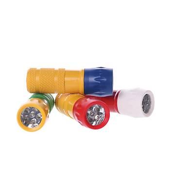 Taraftar Renkli EL Feneri Watton Wt-003