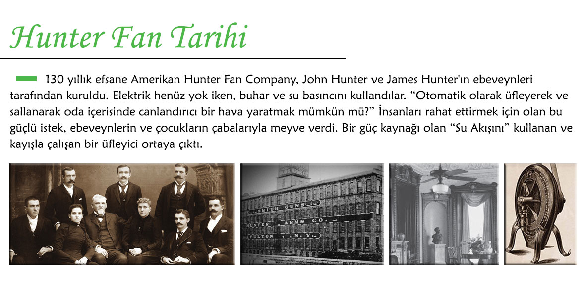 Hunter Fan Tarihi