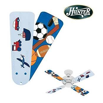 Hunter - Çocuk Odasý Bayport Modeli Ýçin Gezi - Spor Elementli Kanatlar