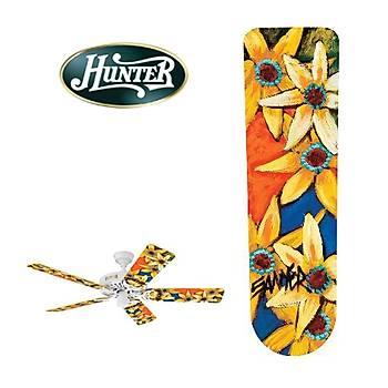 Hunter - Gün Çiçeði Desenli Kanatlar