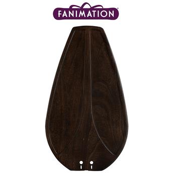 Fanimation - Ceviz Oyma Som Tahta Kanat Seti