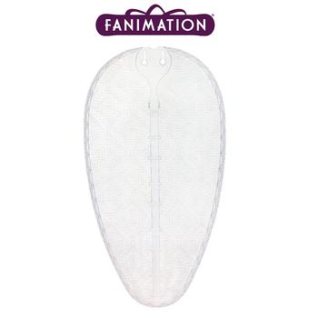 Fanimation - Beyaz Renkte Bambu Örme Dar Oval Kompozit Kanat Seti