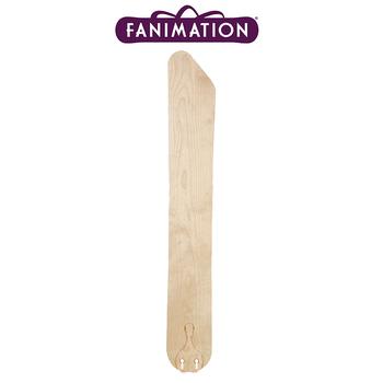 Fanimation - Düz Renk Dar/Uzun Tahta Kanat Seti