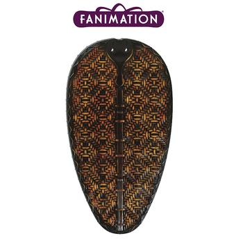 Fanimation - Antik Renkte Bambu Örme Dar Oval Kompozit Kanat Seti