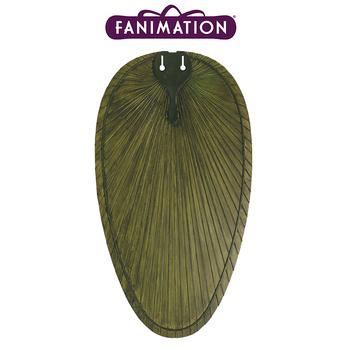 Fanimation - Yeþil Renkte Palmiye Yapraðý Þekilli Dar Oval Kompozit Kanat Seti