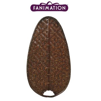 Fanimation - Antik Renk Bambu Örme Dar Oval Kanat Seti
