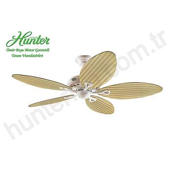 Hunter - Savoy Beyaz - 137 Cm. Plastik Kanatlý Tavan Vantilatörü