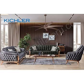 Kichler - Lehr Mokka Kahverengi - 203 Cm. Dýþ Mekan Tavan Vantilatörü