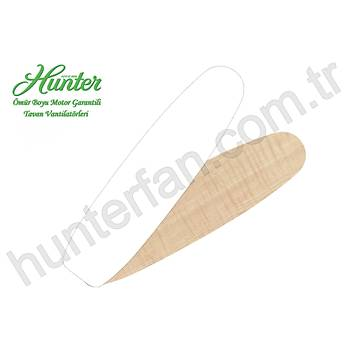 Hunter - Lugano Beyaz - 132 Cm. Aydýnlatmalý Tavan Vantilatörü
