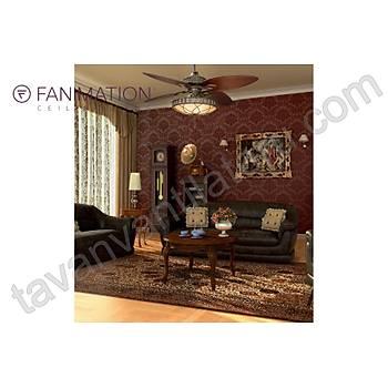 Fanimation - Lauren Brooks The Bayhill Collection - 142 Cm. Aydýnlatmalý Tavan Vantilatörü