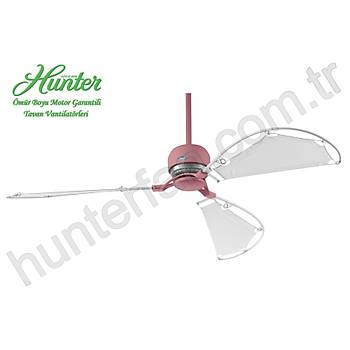 Hunter - Avalon Açýk Pembe - 158 Cm. Bez Kanatlý Tavan Vantilatörü