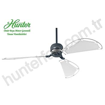 Hunter - Avalon Antrasit Gri - 158 Cm. Bez Kanatlý Tavan Vantilatörü