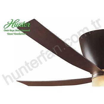 Hunter - Valhalla Coffee Beech - 142 Cm. Aydýnlatmalý Tavan Vantilatörü