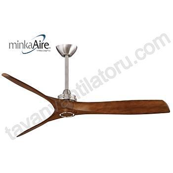 Minka Aire - Aviation Fýrçalanmýþ Nikel - 152 Cm. Tavan Vantilatörü