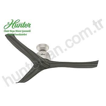 Hunter - Harmony Mat Nikel Gövde - 137 Cm. Tavan Vantilatörü