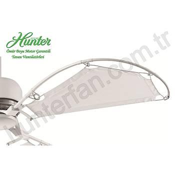 Hunter - Avalon Beyaz - 158 Cm. Bez Kanatlı Tavan Vantilatörü