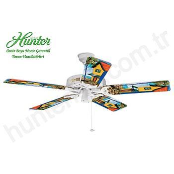 Hunter - Classic Original Beyaz - 132 Cm. Tavan Vantilatörü