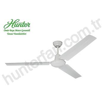 Hunter Revolutions - Industrial Beyaz - 142 Cm. Tavan Vantilatörü